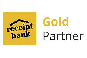 Receipt Bank gold partner logo